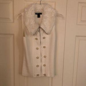 White House Black Market Sweater vest